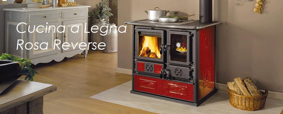 Melchiori egidio stufe e caldaie a pellet e legna impianti elettrici rosa reverse - Cucina a legna rizzoli ...