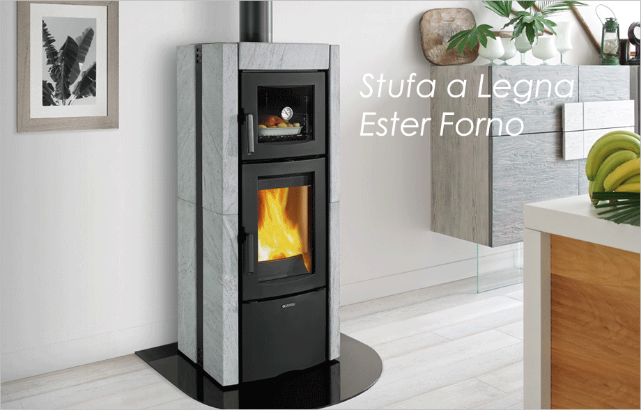 Melchiori egidio stufe e caldaie a pellet e legna - Stufe forno a legna ...