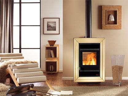 Melchiori egidio stufe e caldaie a pellet e legna impianti elettrici riscaldamento legna pellet - Stufe piccole a legna ...